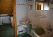 Hütte mit Hund-Badezimmer PBF00198