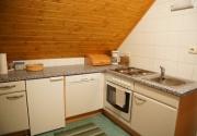 Hütte mit Hund-Küche PBF00198