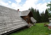 Hütte mit Hund-Aussenansicht PBF00198