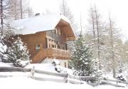 Winterlandschaft rund um die Hütte