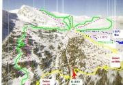 Nahe dem Skigebiet der Turracher Höhe